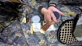 Raspy Thunder Glass and Slate Turkey Calls