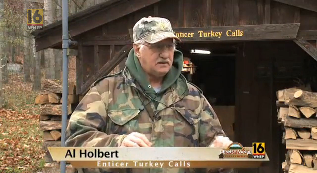 Al Holbert Fall Turkey Hunt with a Dog